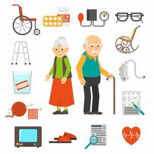 хоспис, гериатрический пансионат, уход за пожилыми с деменцией