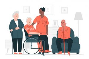 дом престарелых, гериатрическая клиника Кременчуг, деменция у стариков, реабилитация после инсульта, хоспис