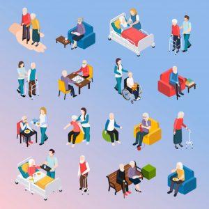 кинезиотейпирование, мануальная терапия, очищение организма в доме престарелых, курс реабилитации в гериатрической клинике